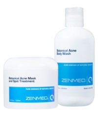 acne body cure zenmed solution graphic