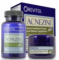 acne skin care treatment product box graphic